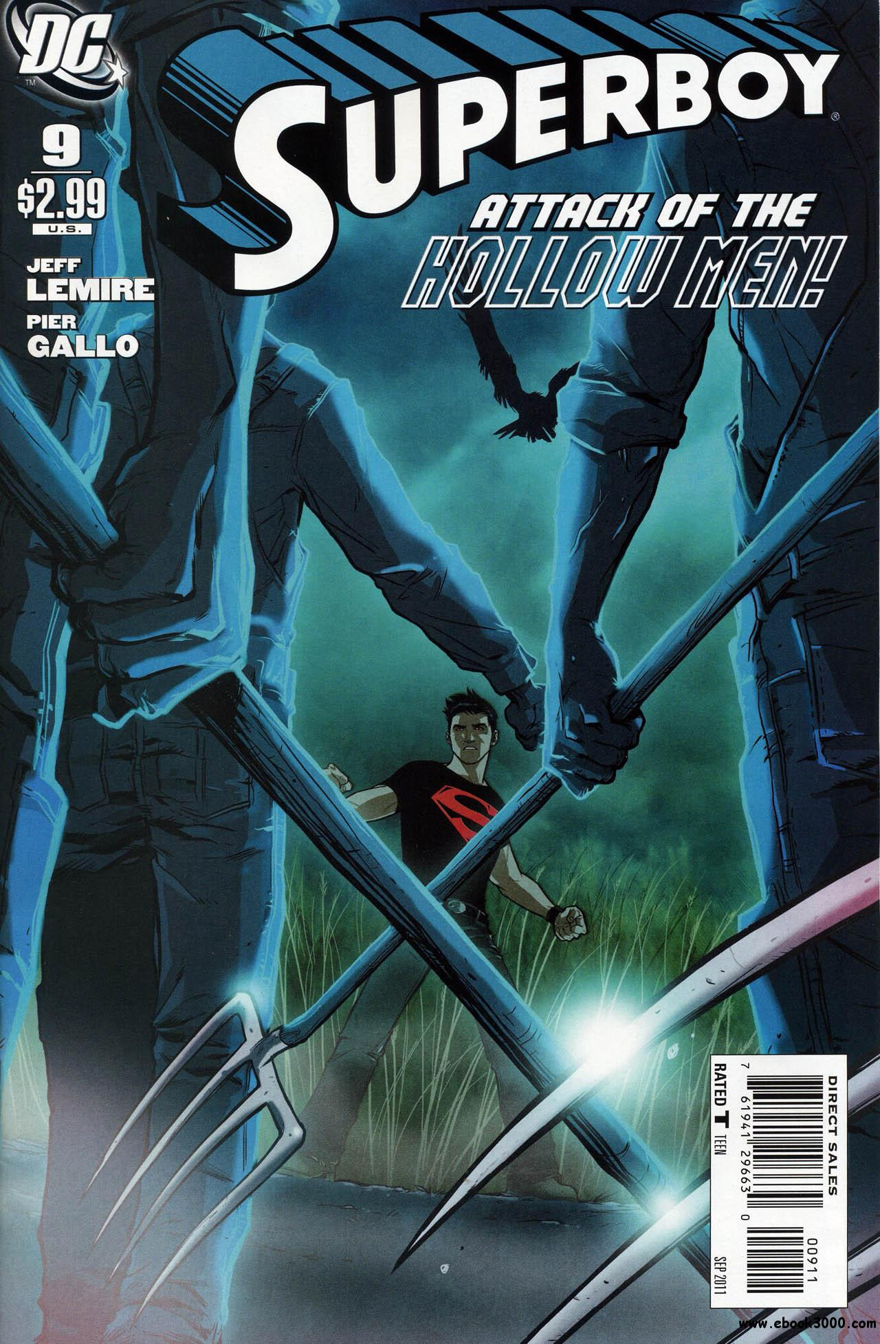 Superboy #9 (2011) free download