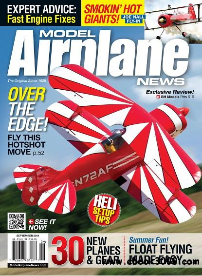 Model Airplane News Magazine September 2011 free download