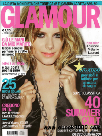 Glamour N. 233 Luglio 2011 free download