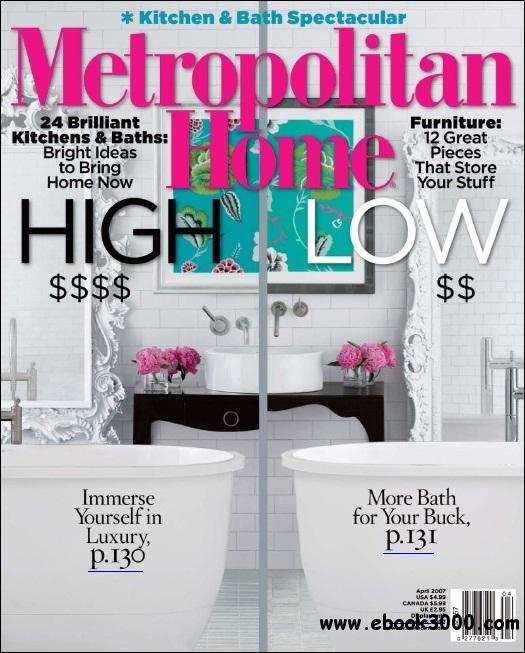 Metropolitan Home - April 2007 free download