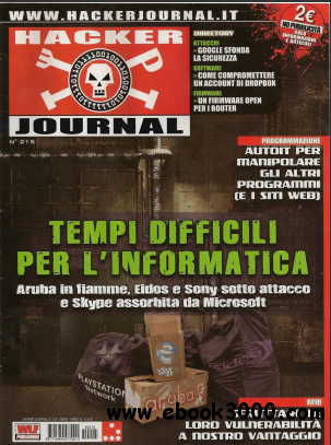 Hacker Journal Nr 215 Luglio 2011 free download