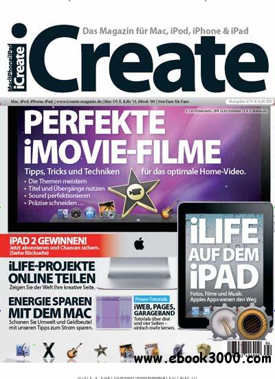 iCreate Magazin Juli August No 04 2011 download dree