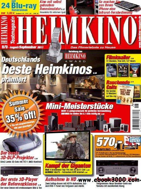 Heimkino Magazin August - September No 08 09 2011 free download
