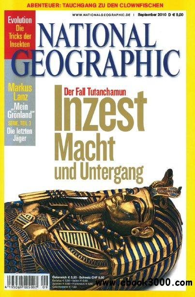 National Geographic Deutschland Magazin September No 09 2010 free download