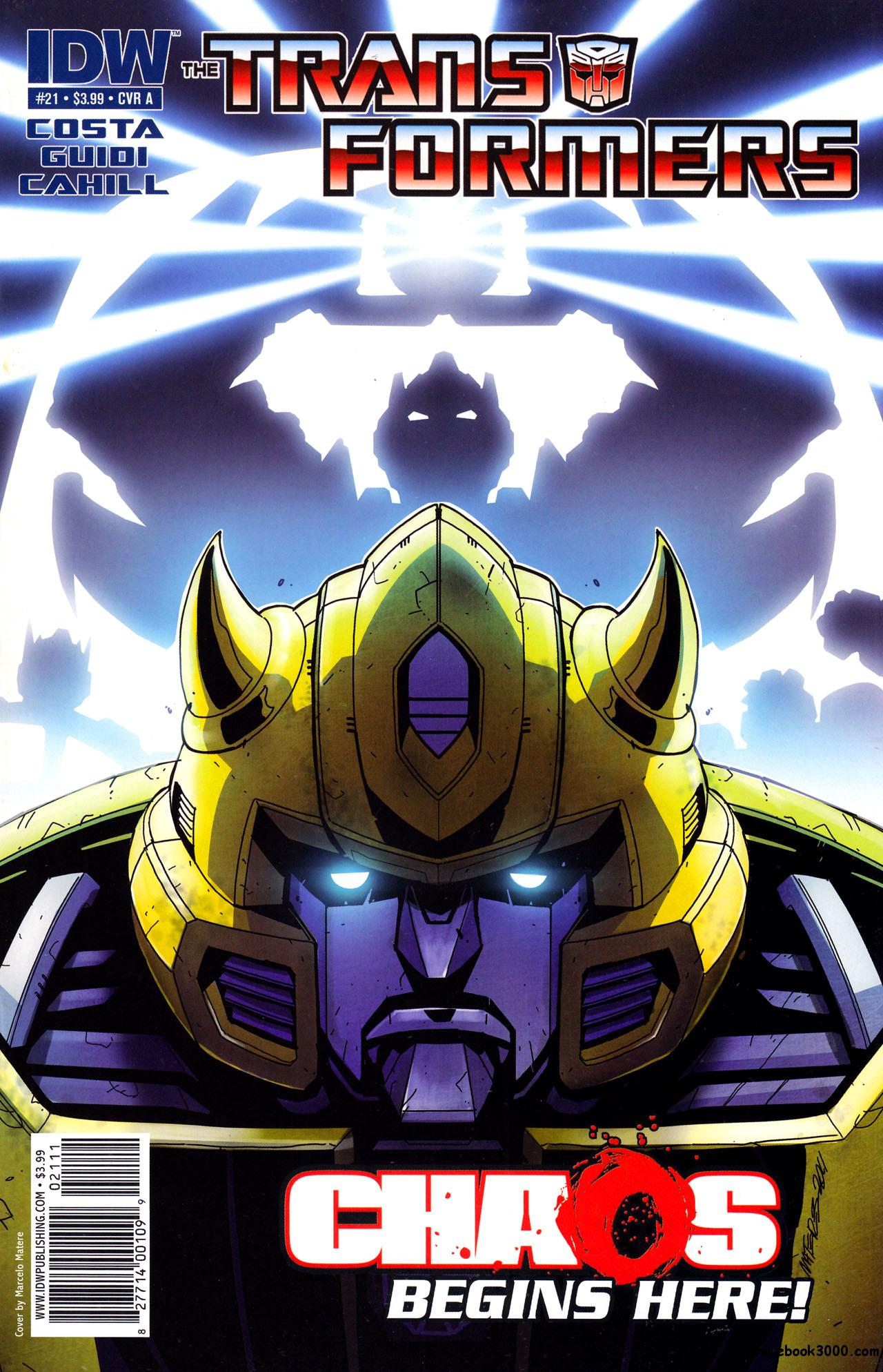 Transformers #21 (2011) free download