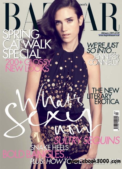 Harper's Bazaar - February 2009 free download