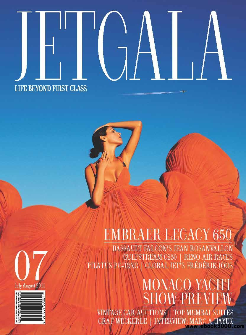 Jetgala Magazine No.7 July / August 2011 free download