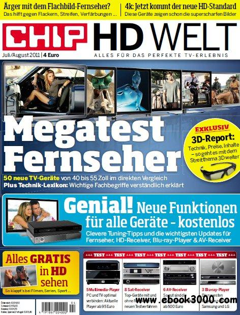 Chip HD Welt Magazin Juli August No 04 2011 free download