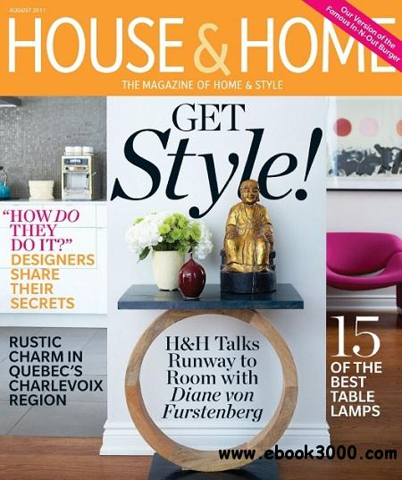 House & Home - August 2011 free download