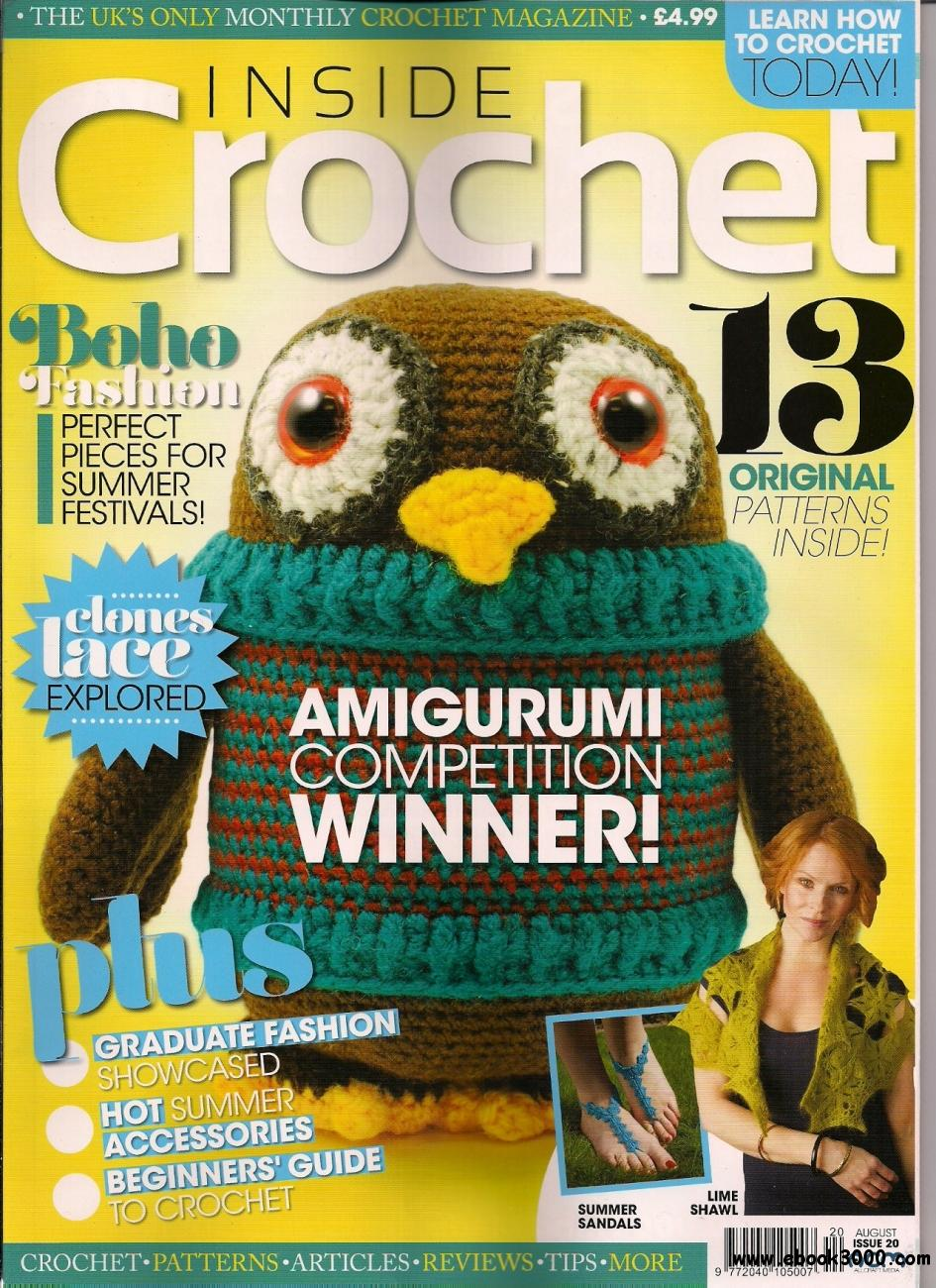 Amigurumi Collection Magazine Download : Inside Crochet, Issue 20 - August 2011 - Free eBooks Download