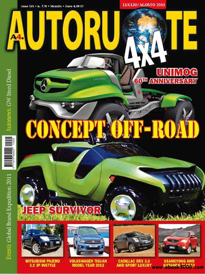 Autoruote 4x4 July/August 2011 (Luglio/Agosto 2011) free download