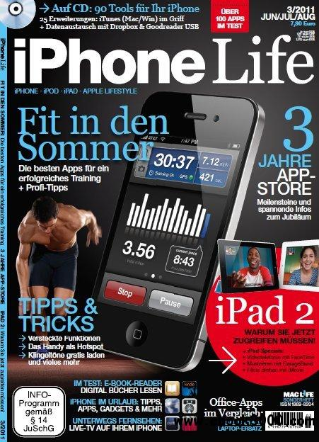 MacLife iPhone Life Magazin Juni - Juli No 03 2011 free download