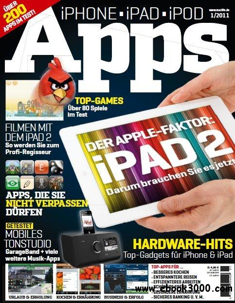 MacLife Magazin Sonderheft iPod iPhone iPad Apps No 01 2011 free download
