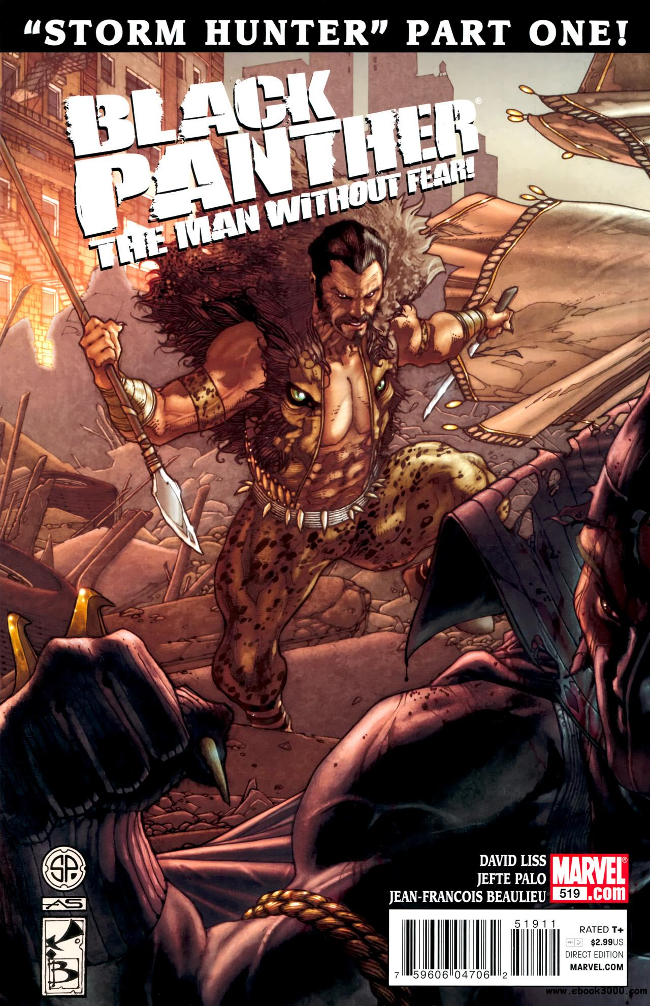 Black Panther - The Man Without Fear #519 (2011) free download