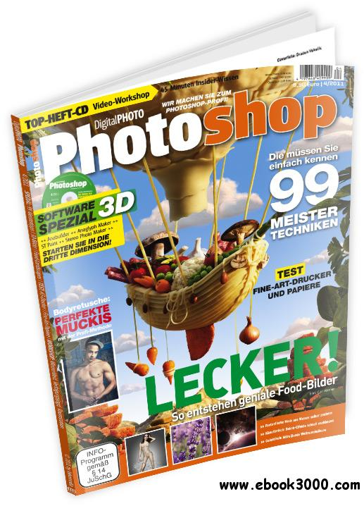 Digital Photo Photoshop Magazin Juli - August No 04 2011 free download