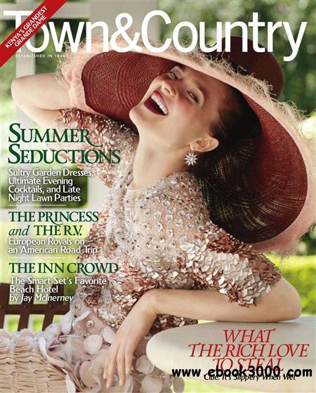 Town & Country - August 2011 free download