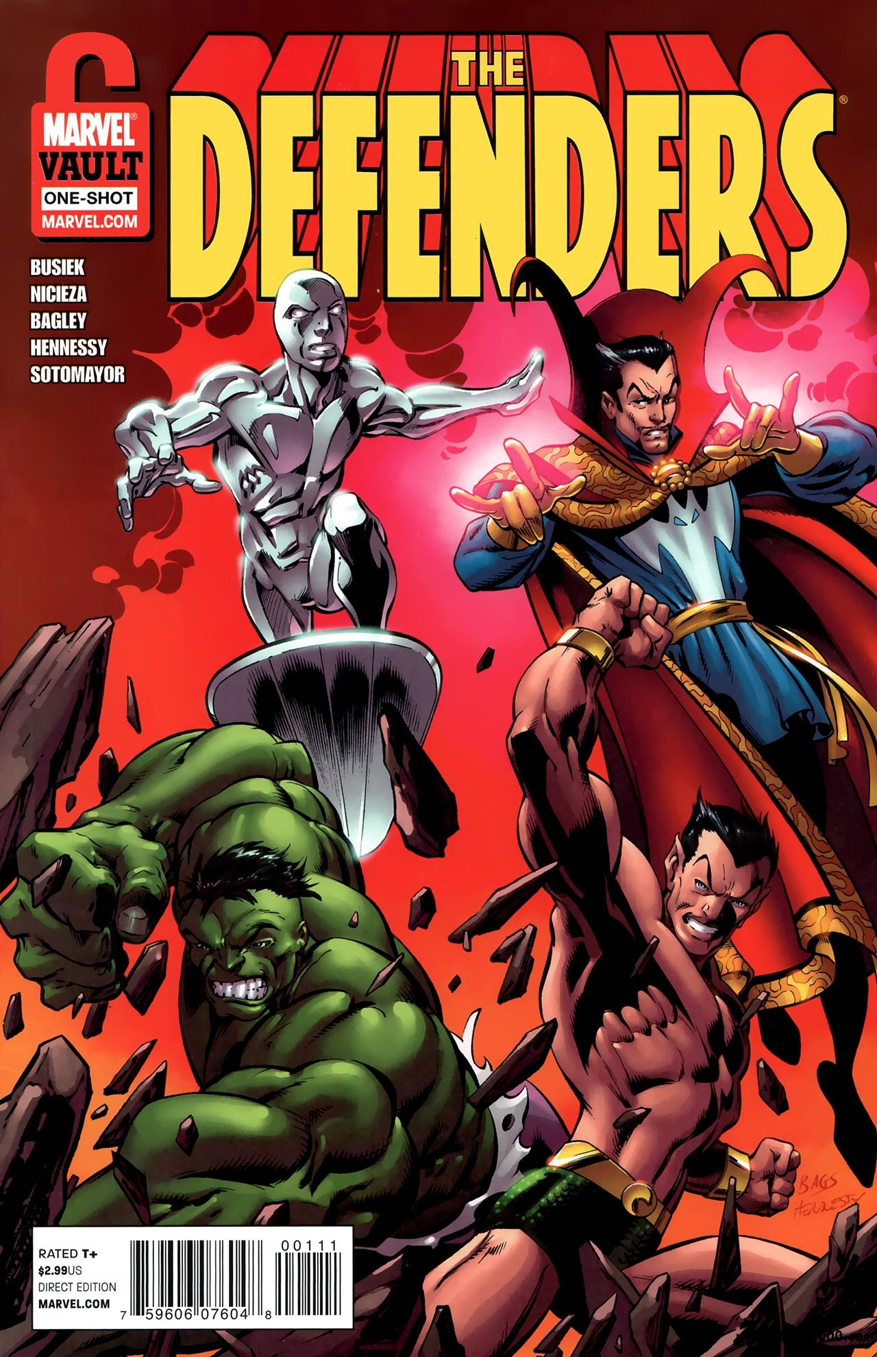 Defenders - From the Marvel Vault #1 (2011) free download