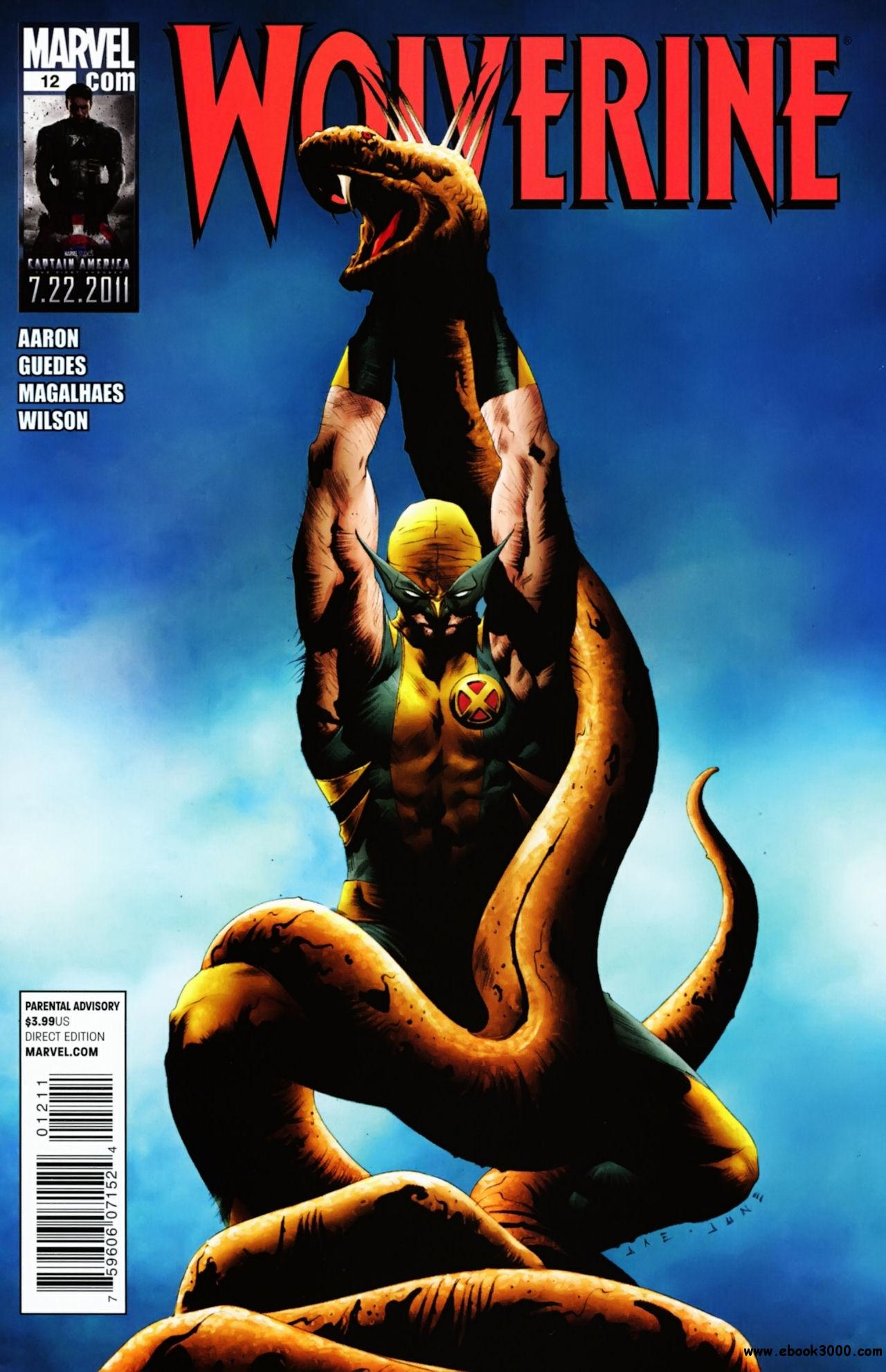 Wolverine #12 (2011) free download