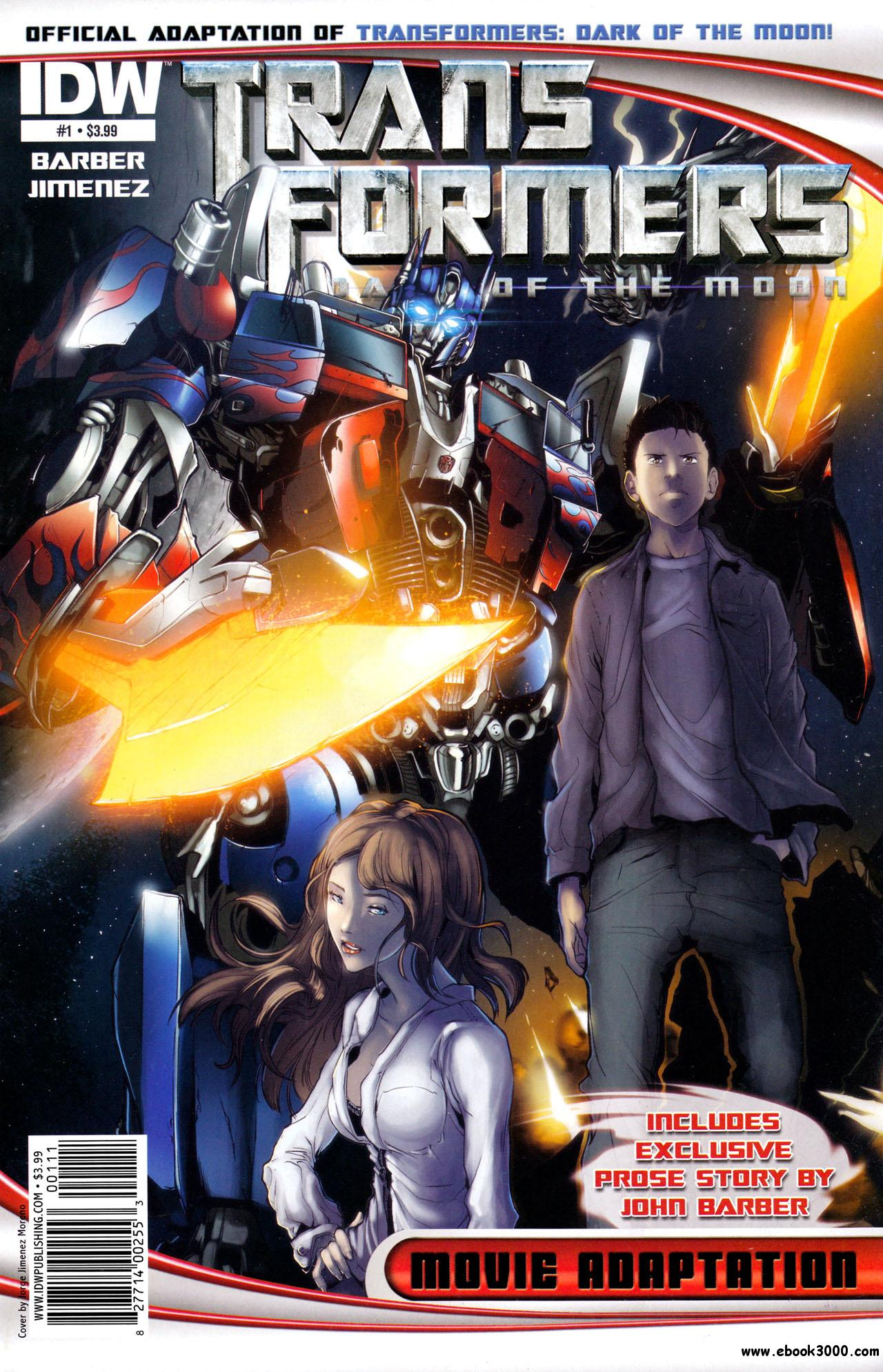 Transformers: Dark of the Moon Movie Adaptation #1-4 [complete] free download