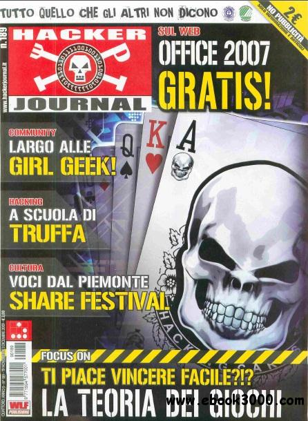Hacker Journal N 189 - 19 Novembre - 3 Dicembre 2009 free download
