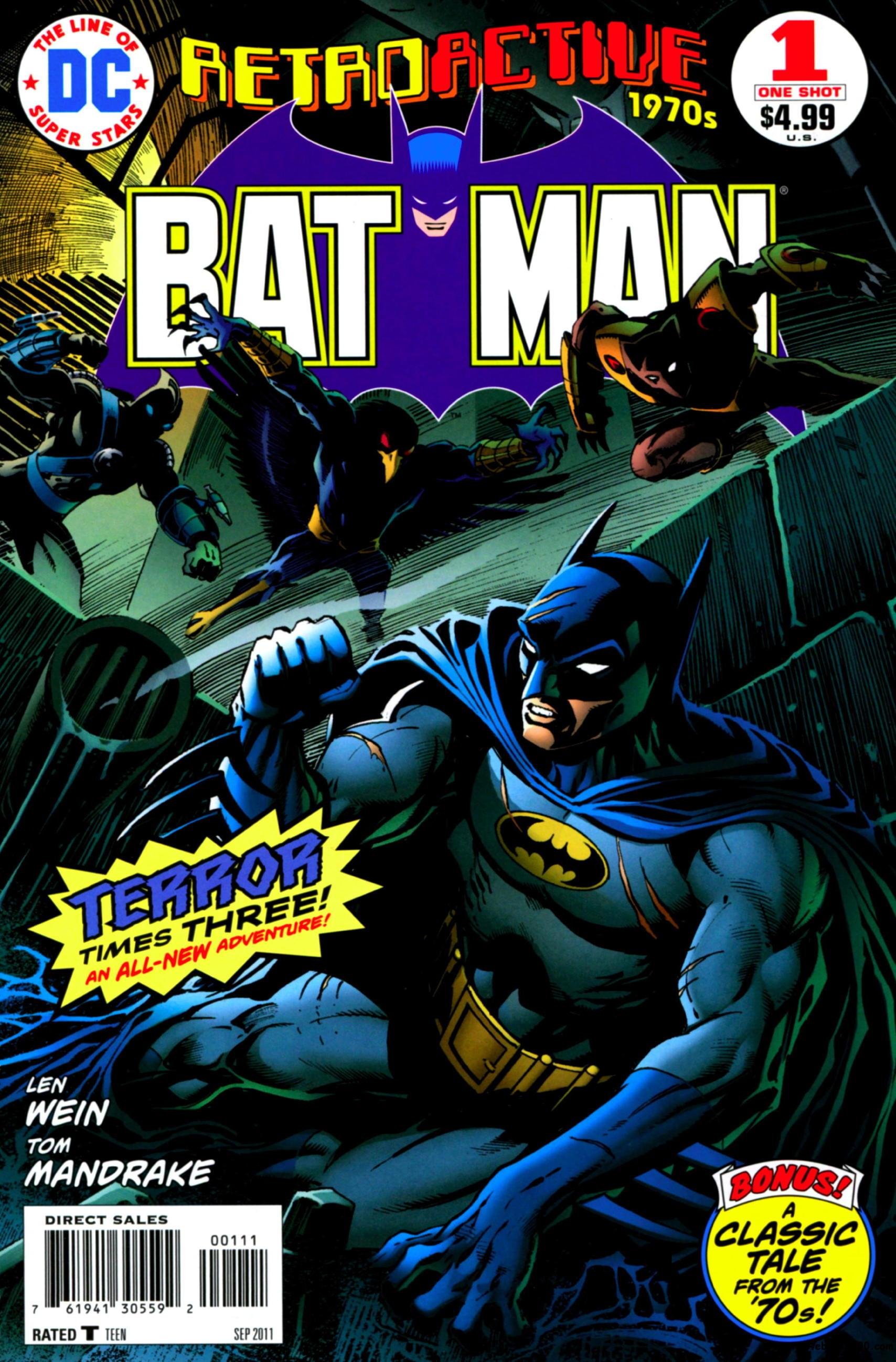 DC Retroactive: Batman - The 70s #1 (2011) free download