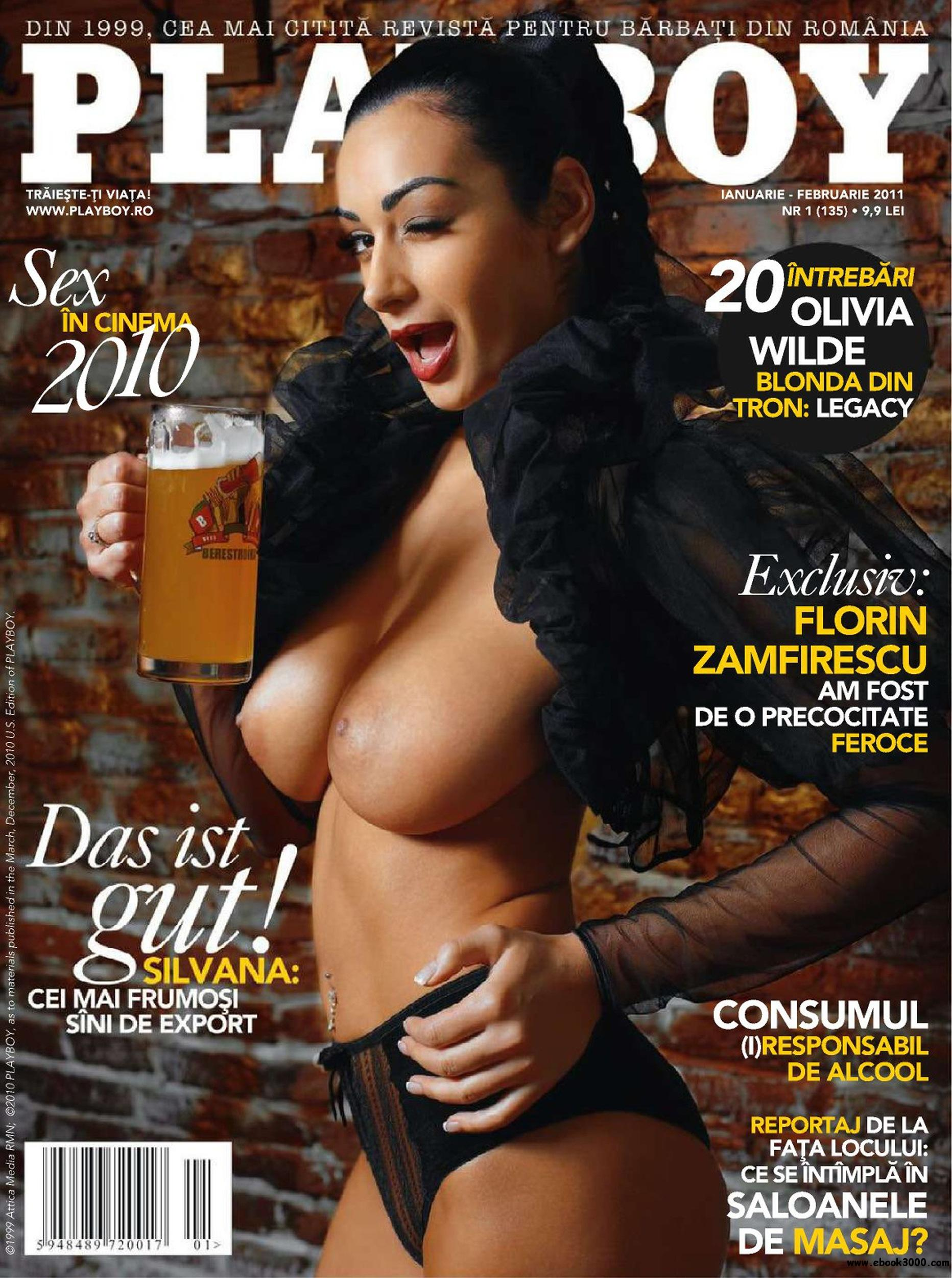 Playboy Romania - January/February 2011 - No watermark free download