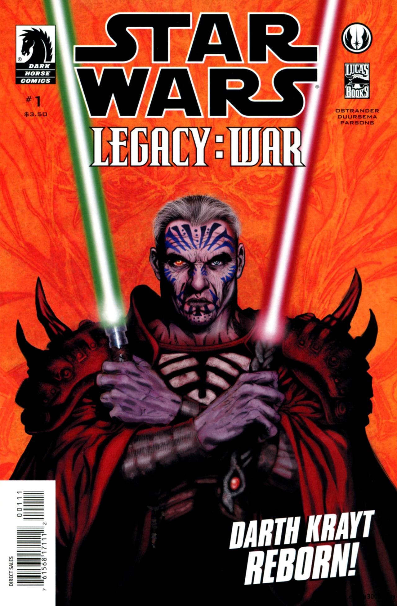 Star Wars: Legacy - War #1-6 [complete] free download