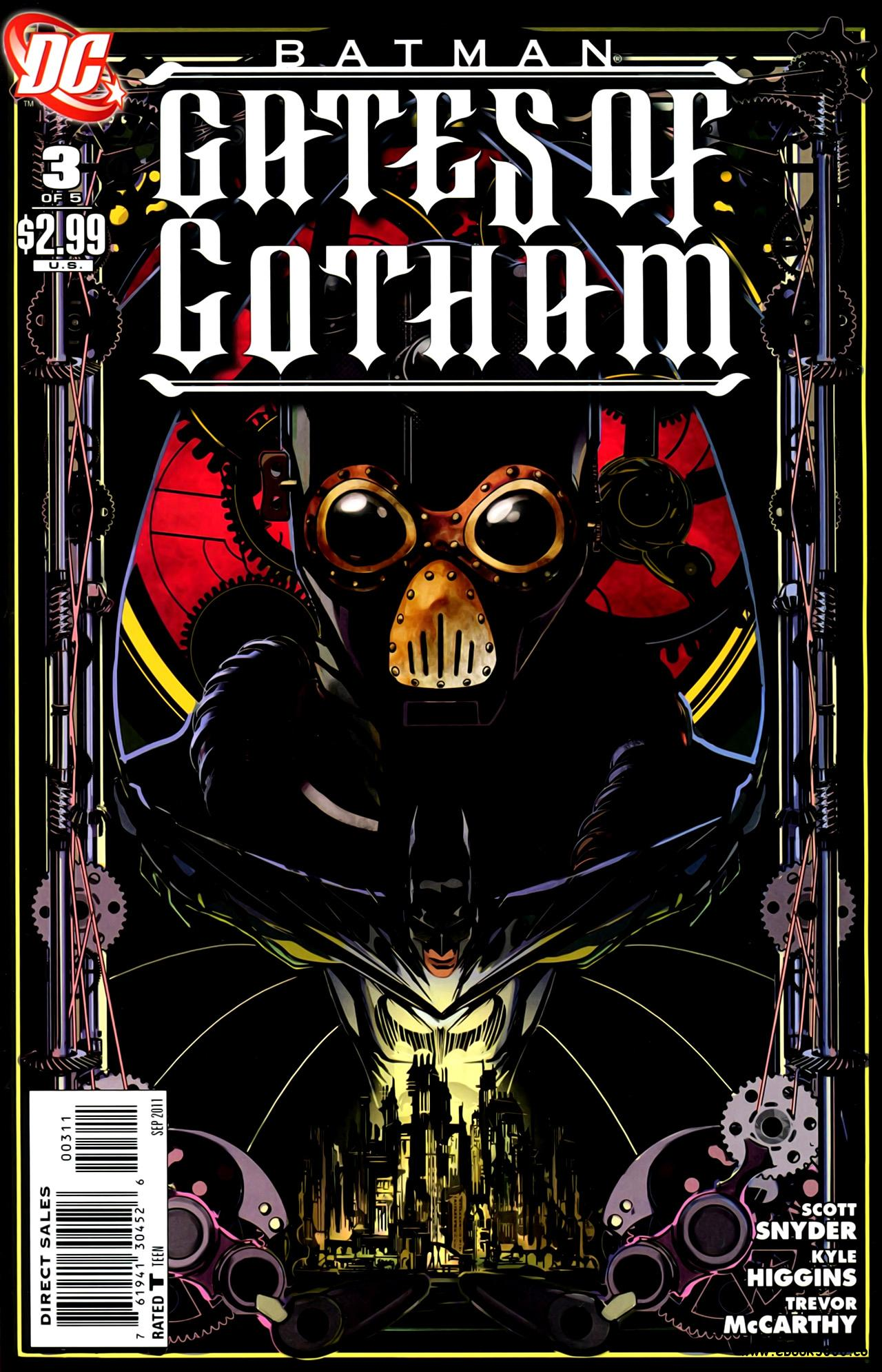 Batman - Gates of Gotham #3 (2011) free download