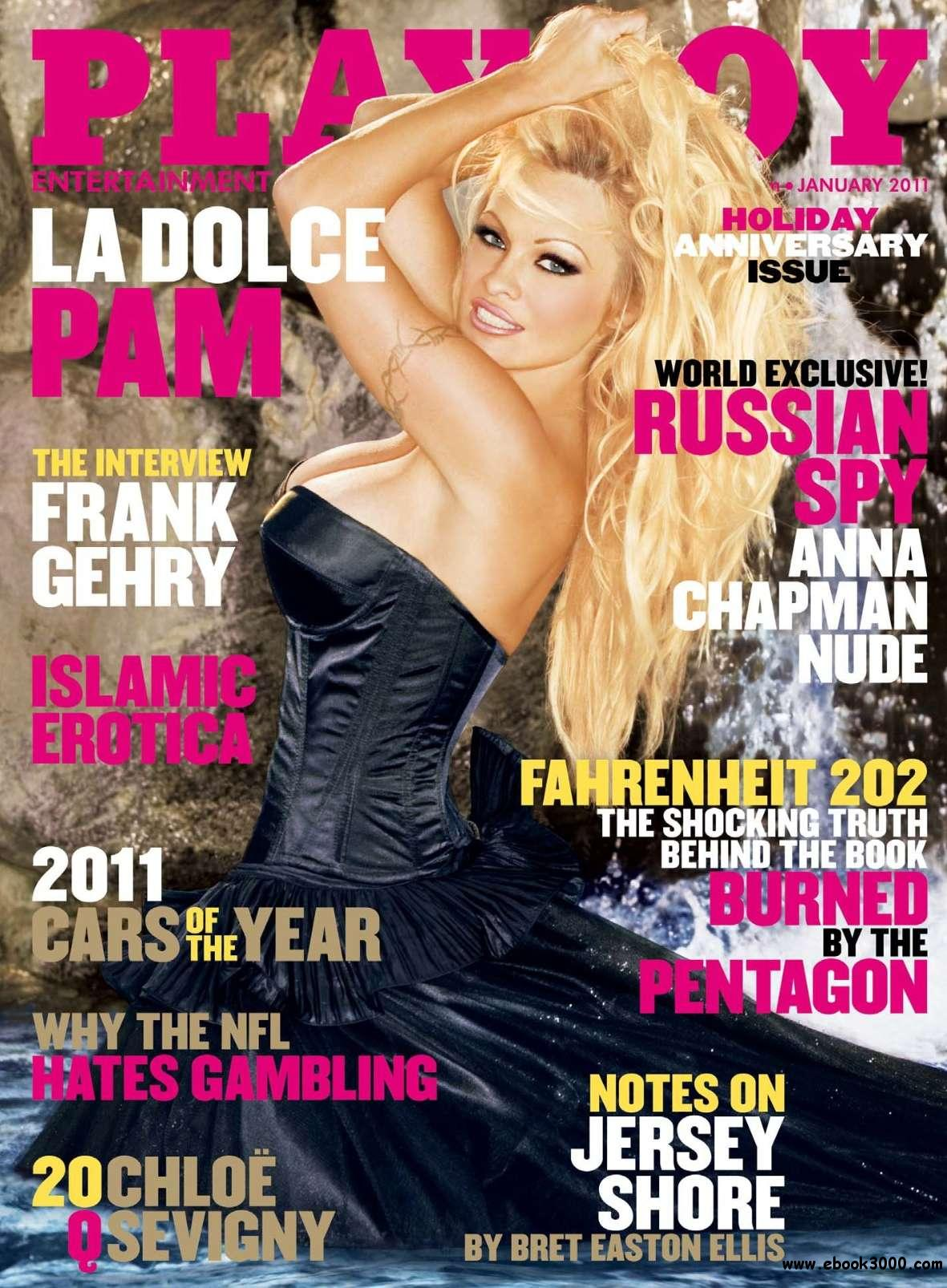 Playboy USA - January 2011 - No watermark free download
