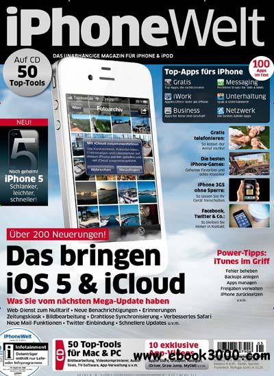 iPhone Welt Magazin August September No 05 2011 free download