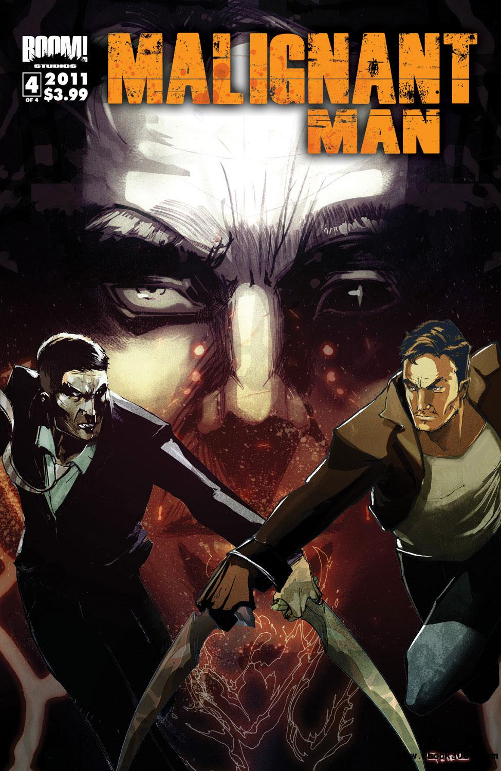 Malignant Man #4 (2011) free download