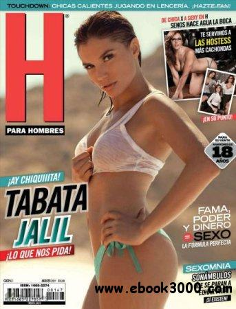 H para Hombres Mexico - August 2011 free download