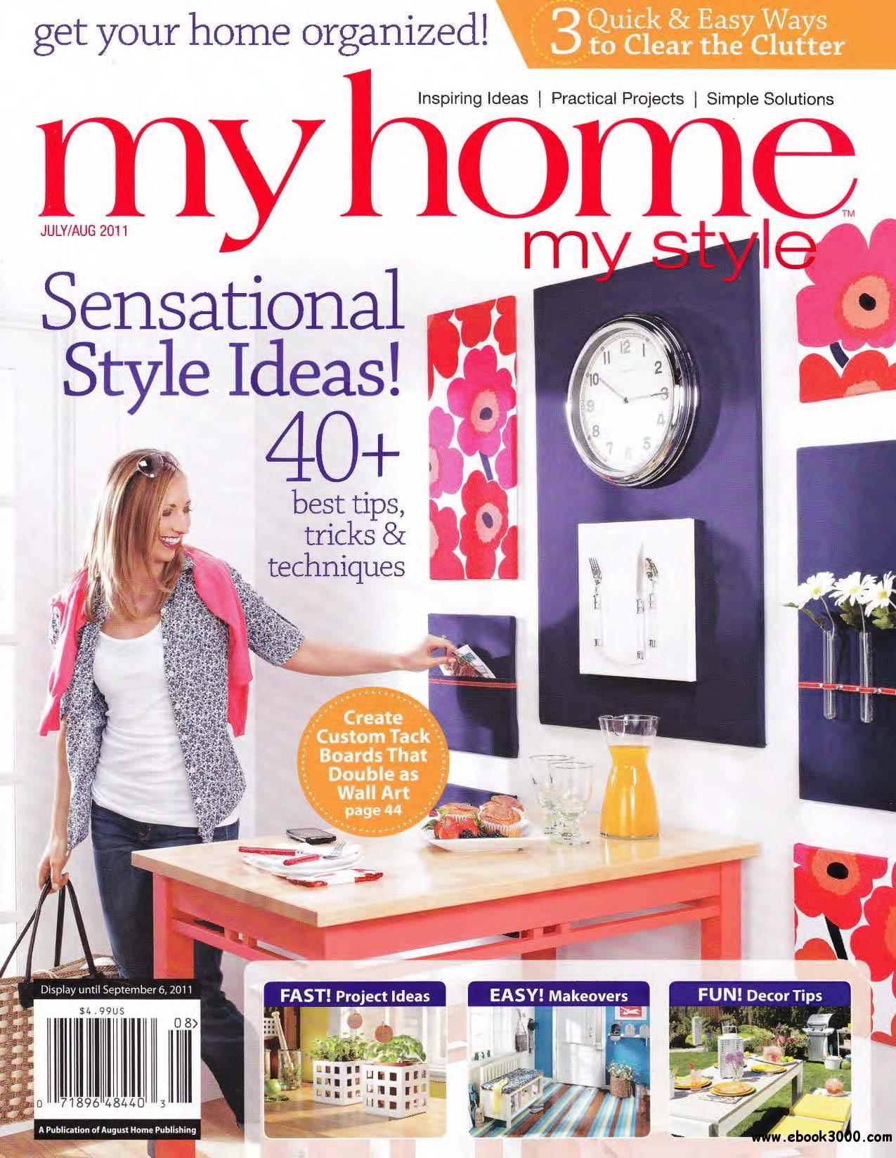 Workbench My Home My Style #10 (July - August 2011) free download