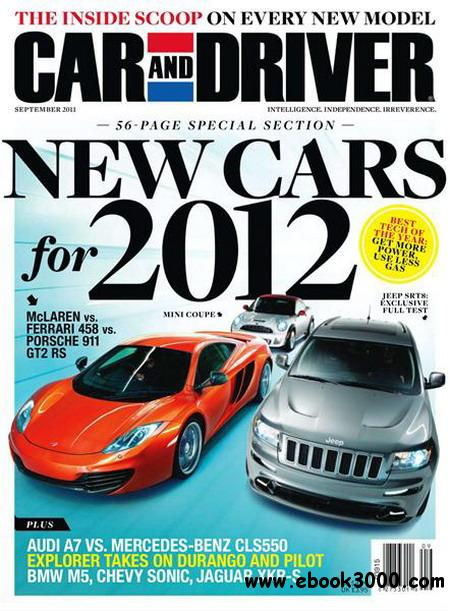 Car and Driver magazine - September 2011 free download