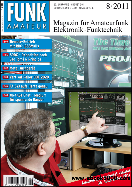 Funkamateur Magazin August No 08 2011 free download