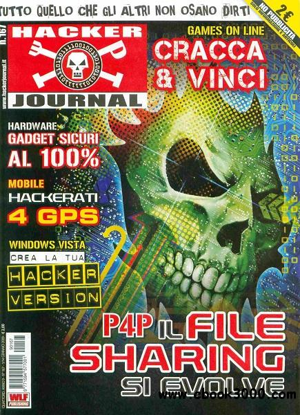 Hacker Journal N 167 - 1-14 Gennaio 2009 free download