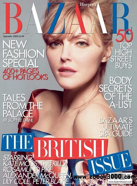 Harper's Bazaar - September 2008 free download