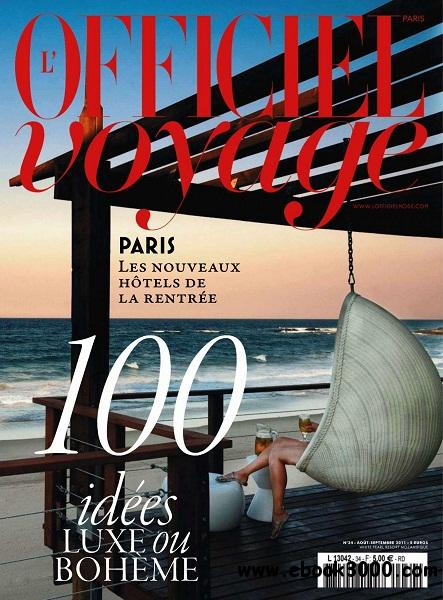L'Officiel Voyage - Aout/Septembre 2011 free download