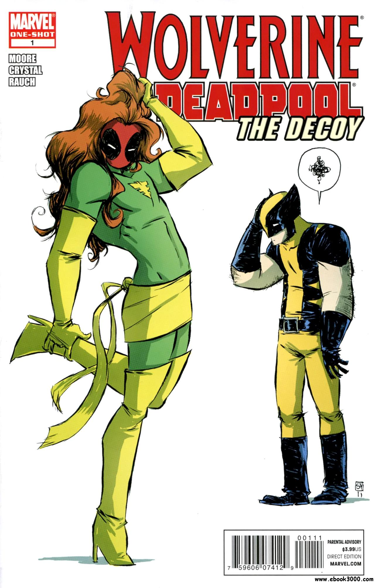 Wolverine & Deadpool - The Decoy #1 (2011) free download