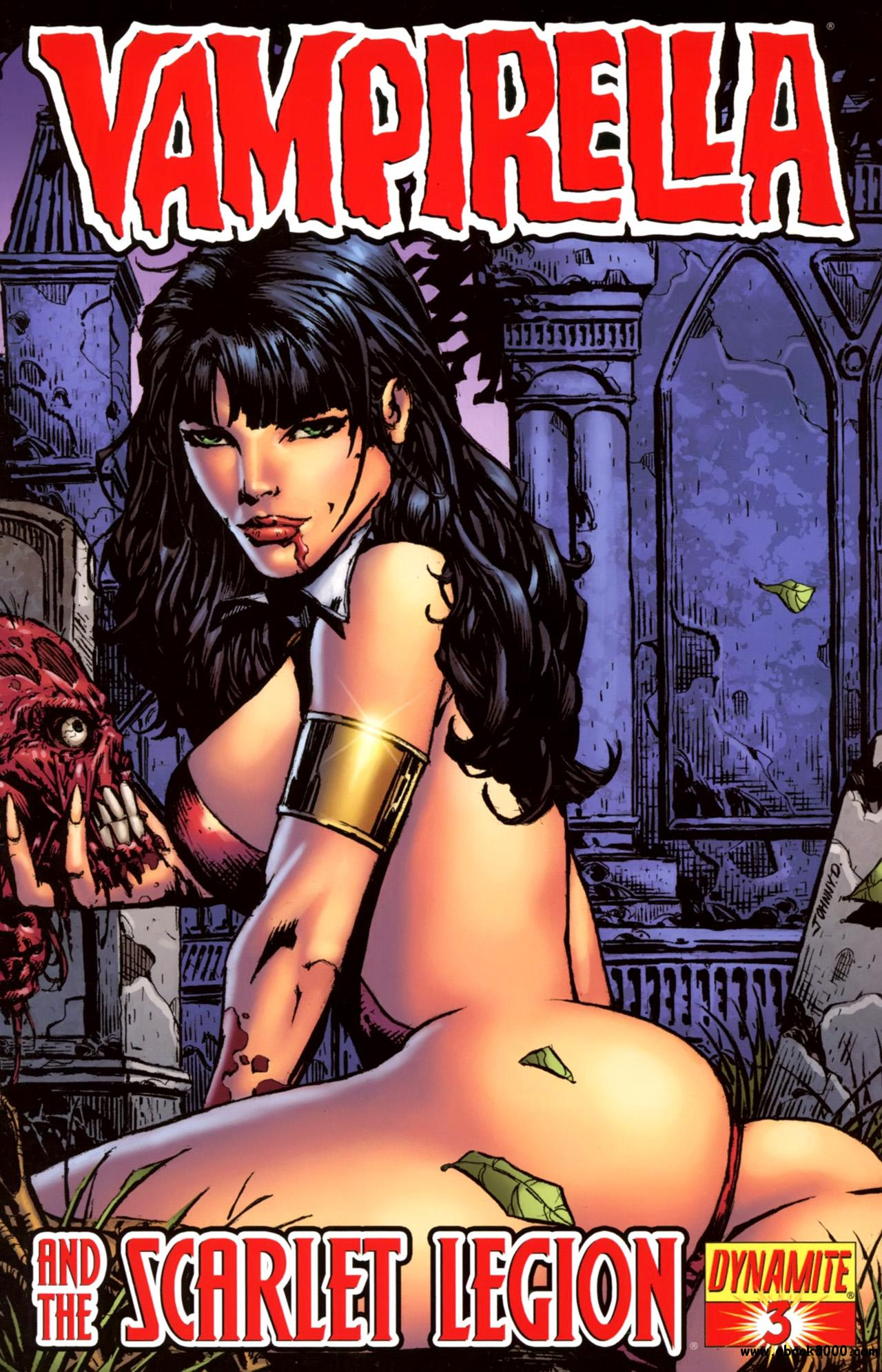 Vampirella And The Scarlet Legion #3 (2011) free download