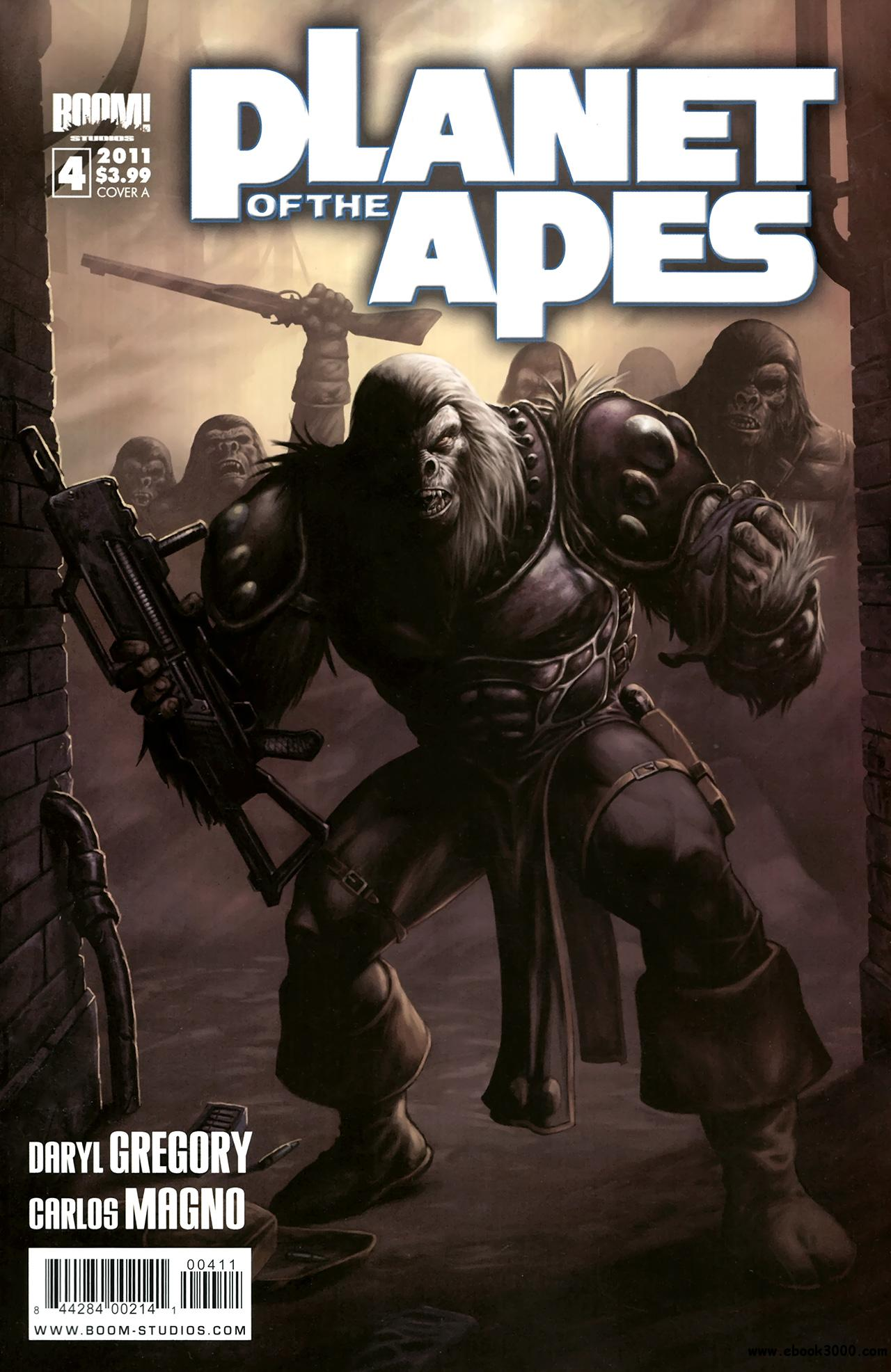 Planet Of The Apes #4 (2011) free download