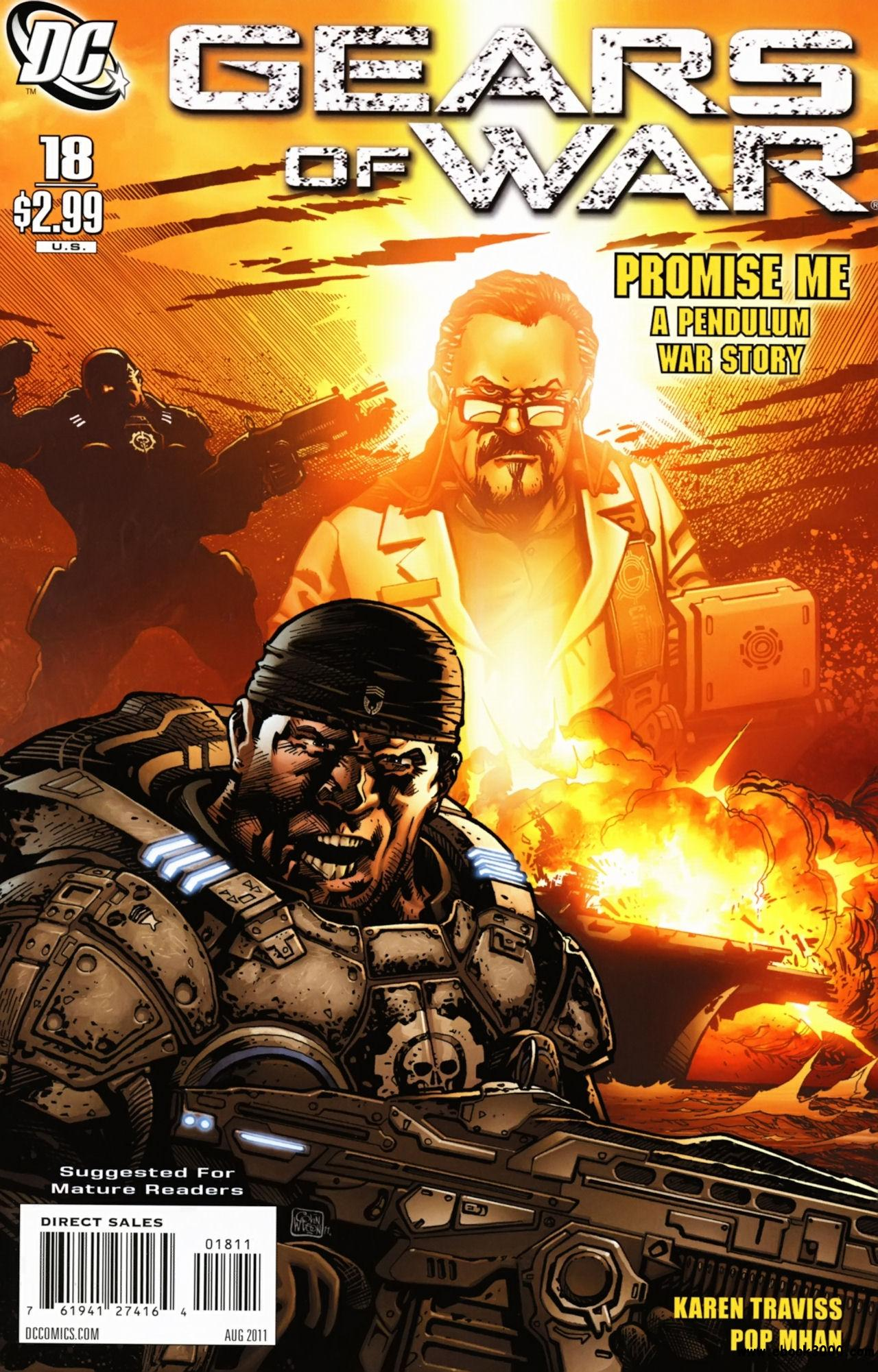 Gears of War #18 (2011) free download