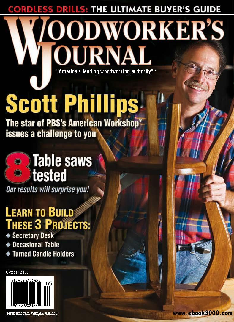 Woodworker's Journal (September - October 2005) free download
