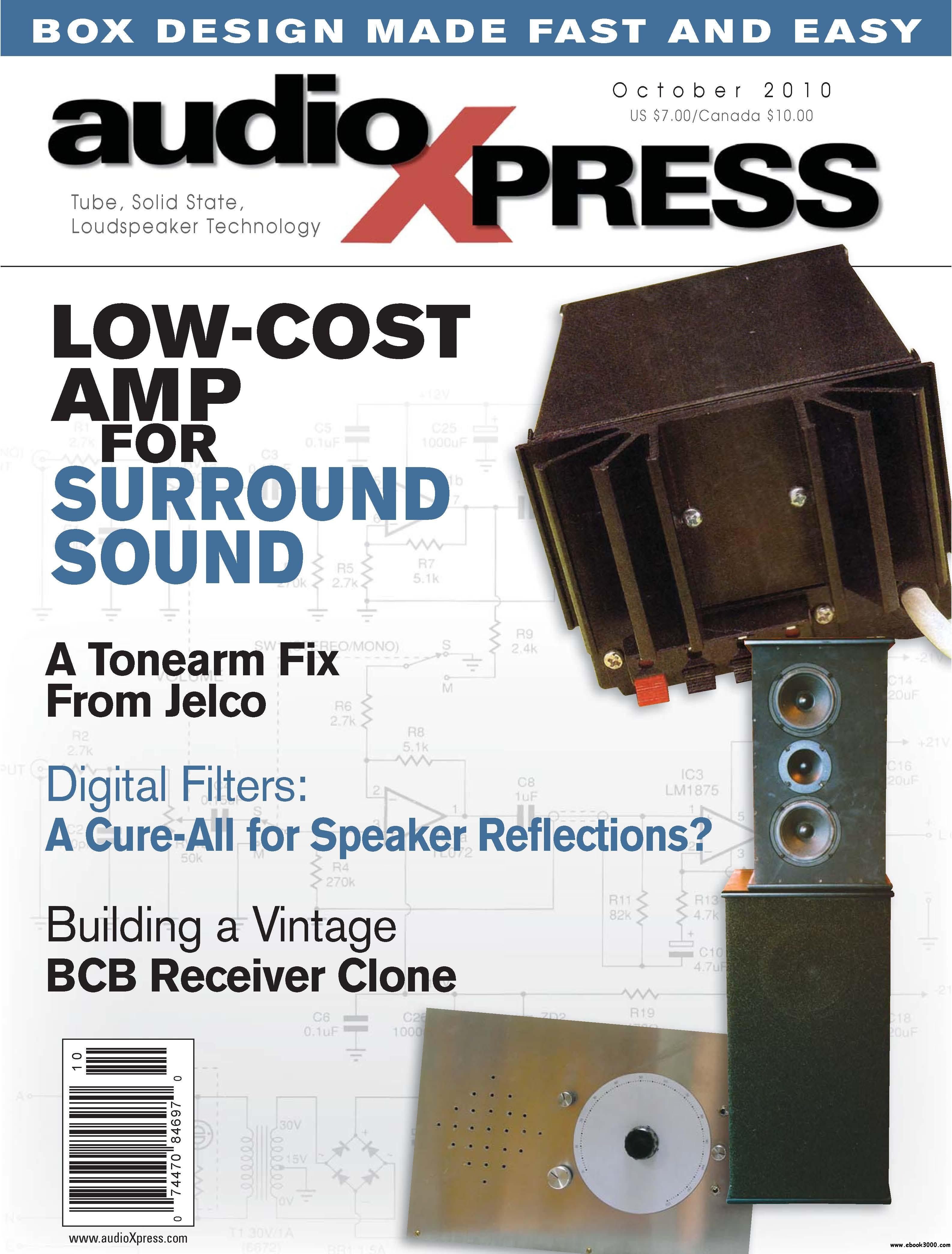 AudioXpress Magazine October 2010 free download