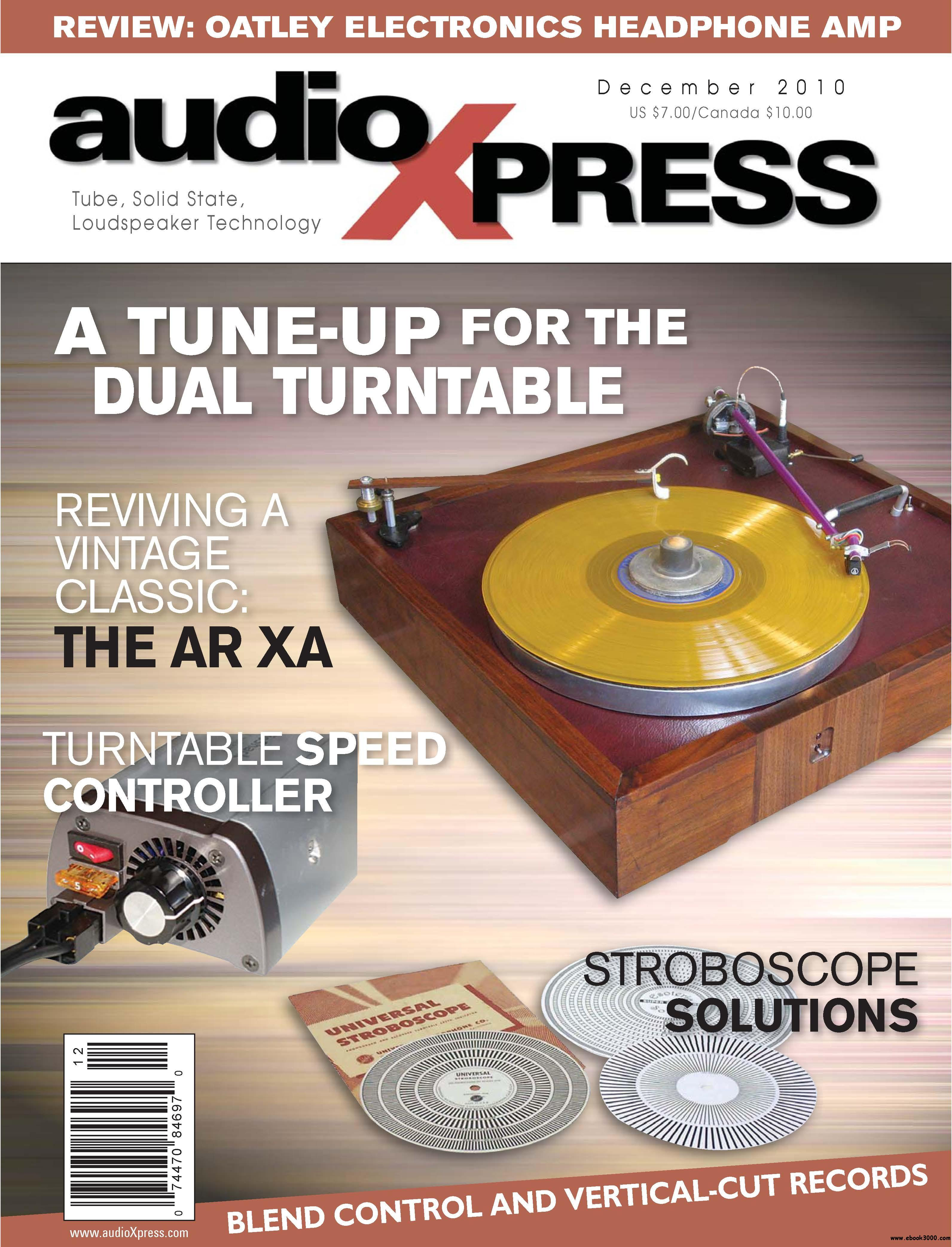 AudioXpress Magazine December 2010 free download