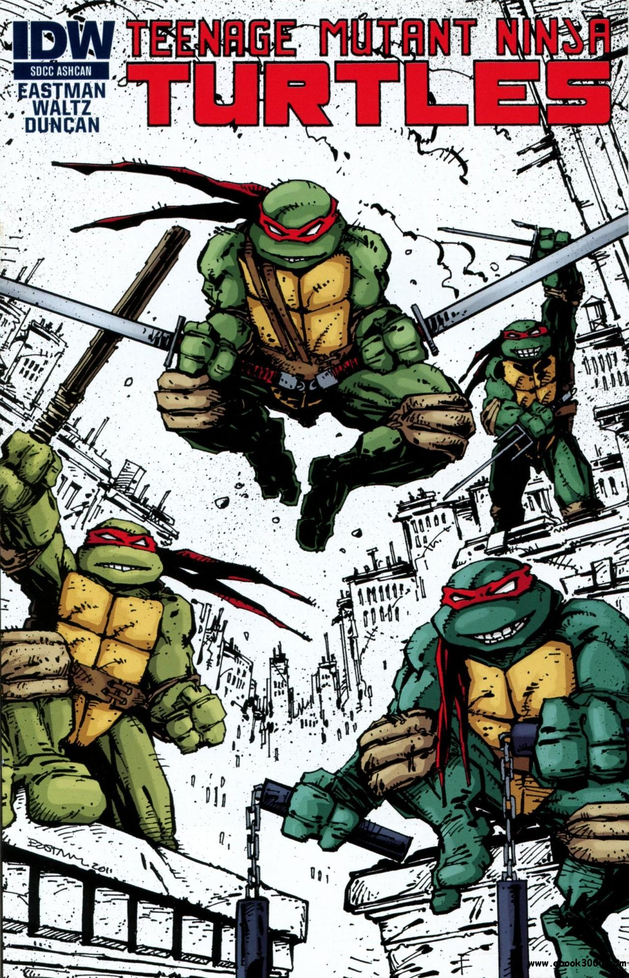 Teenage Mutant Ninja Turtles SDCC Ashcan (2011) free download