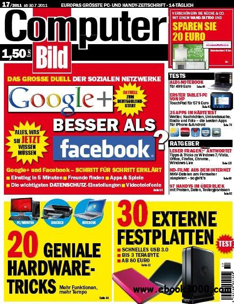Computer Bild Magazin No 17 vom 30 Juli 2011 free download