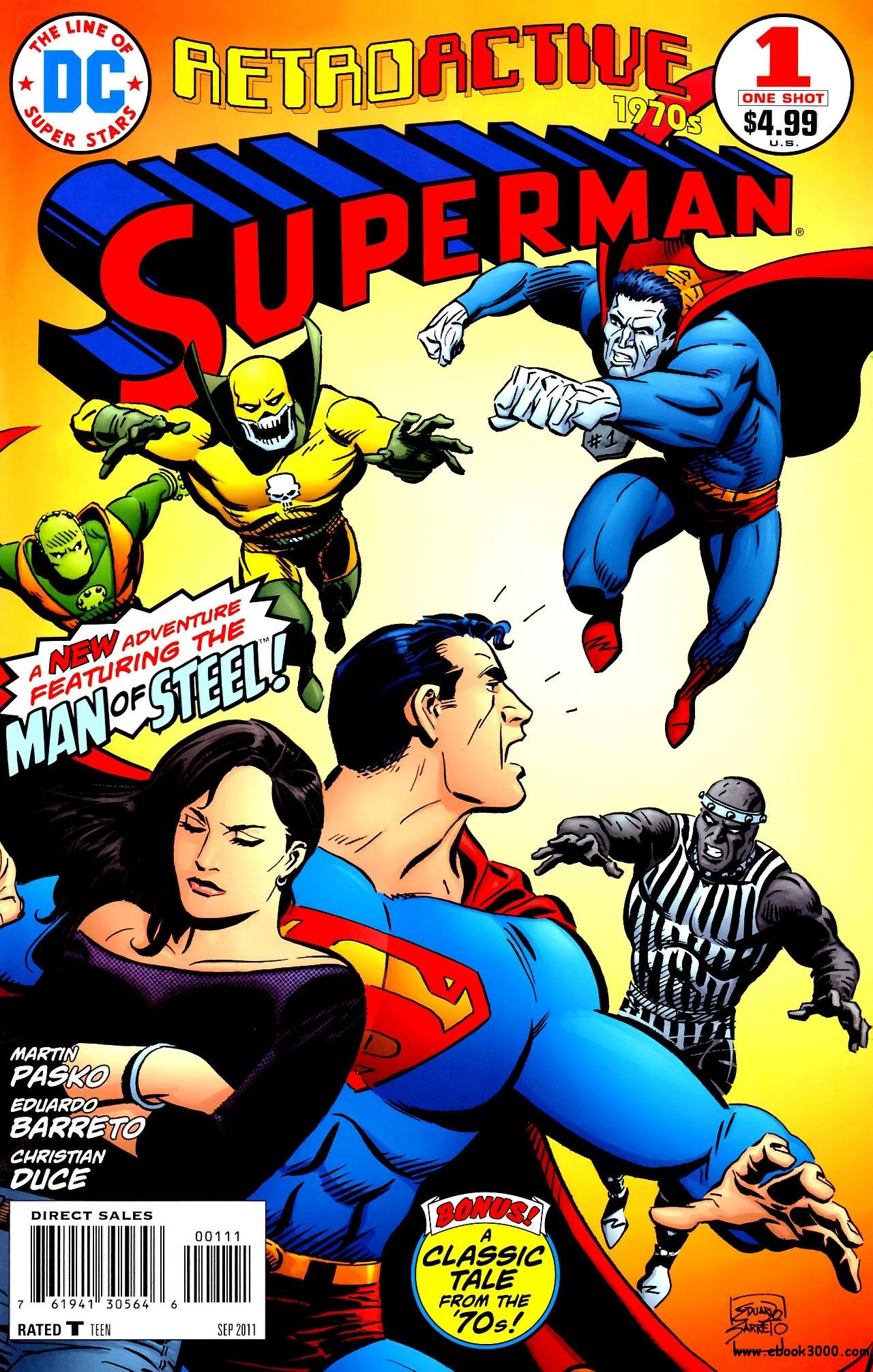 DC Retroactive: Superman - The '70s #1 (2011) free download