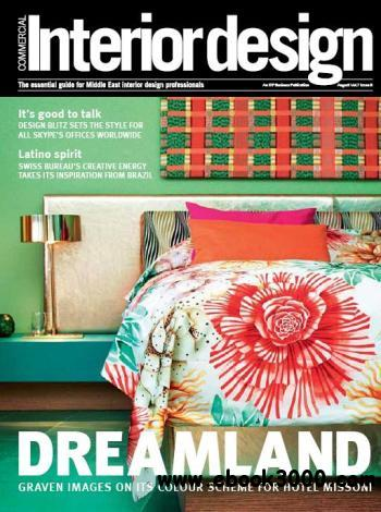 Commercial Interior Design - August 2011 free download