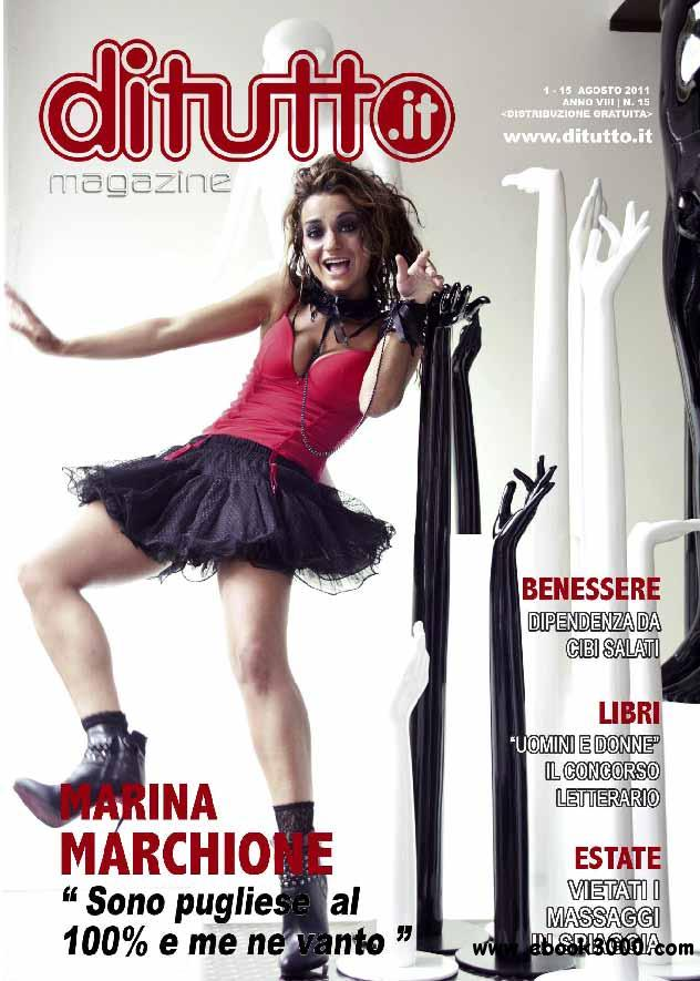 DiTutto No.15 August 2011 (Nr.15 Agosto 2011) free download
